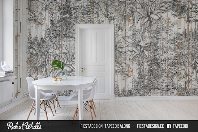 Pilttapeet Rebel Walls - R14702 Secret Garden