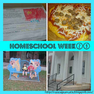 Homeschool Week 29