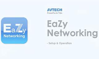 Cara Setting Eazy Cloud AVTECH Di Handphone
