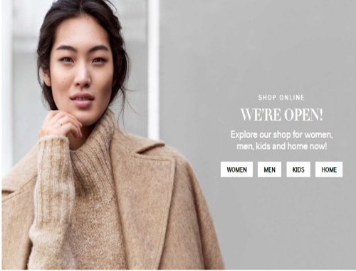 H&M Canada Online Store Opens + Free Shipping + 20% Off Entire Order Promo Code