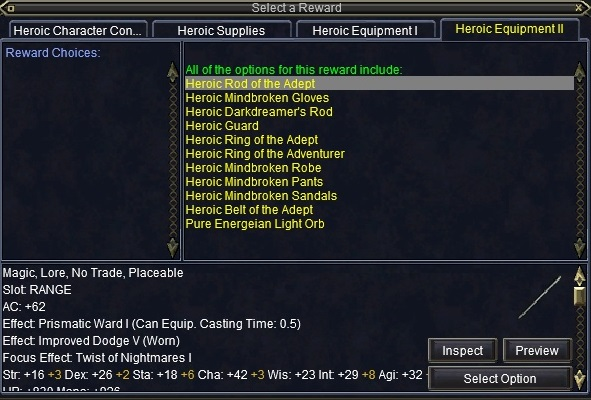 Inventory Full: It's Your Birthday, Give Me Presents! : EverQuest