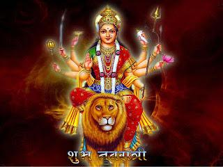 Free Durga Ashtami FB GIF Images Download
