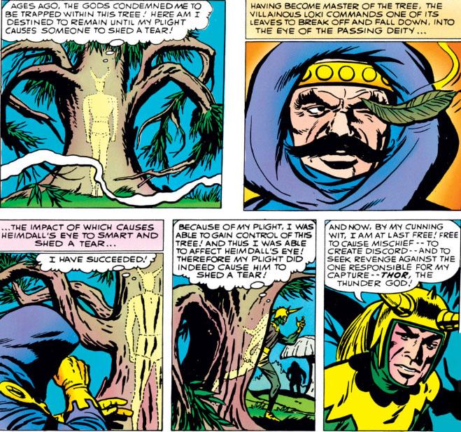 The Peerless Power of Comics!: When Loki Met Thor
