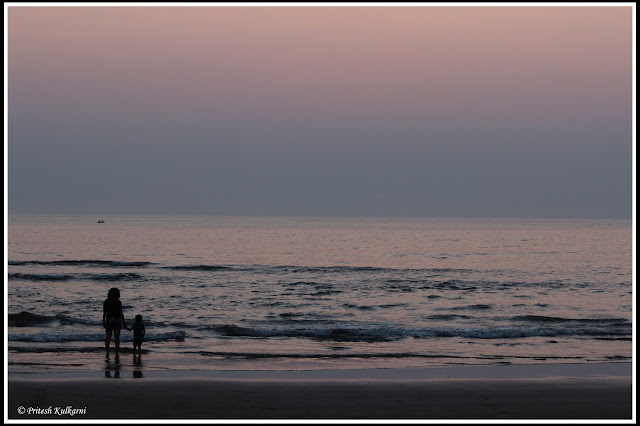 Sunset from Devbagh Beach
