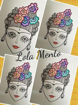 cuadros decorativos, LolaMento, Lola Mento, Ilustraciones lola mento, vajilla ilustrada