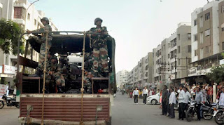 Curfew Lifted In 3 Areas Of Ahmedabad.