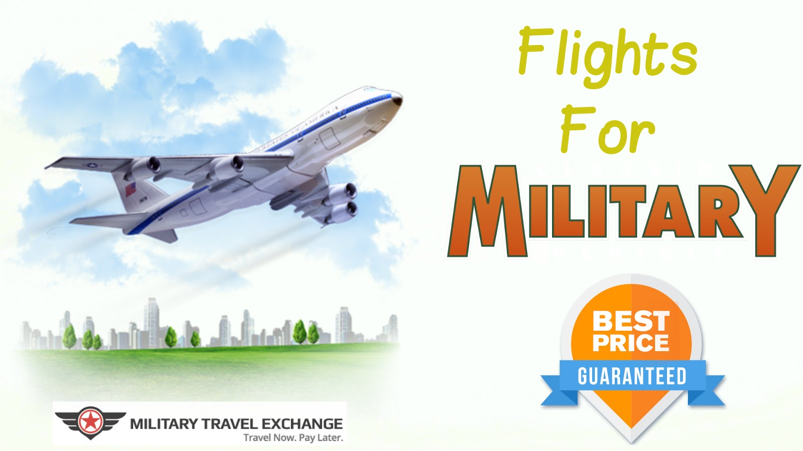 Grab our military discount airfare and save big. Browse through our list of deals to find the deal that offers you the best value. Whether you have to travel for work, or are looking for a vacation with a family, book flight tickets with us to have a relaxing and enjoyable vacation.4/4(K).