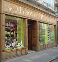 magasin d'usine de porcelaines de Limoges