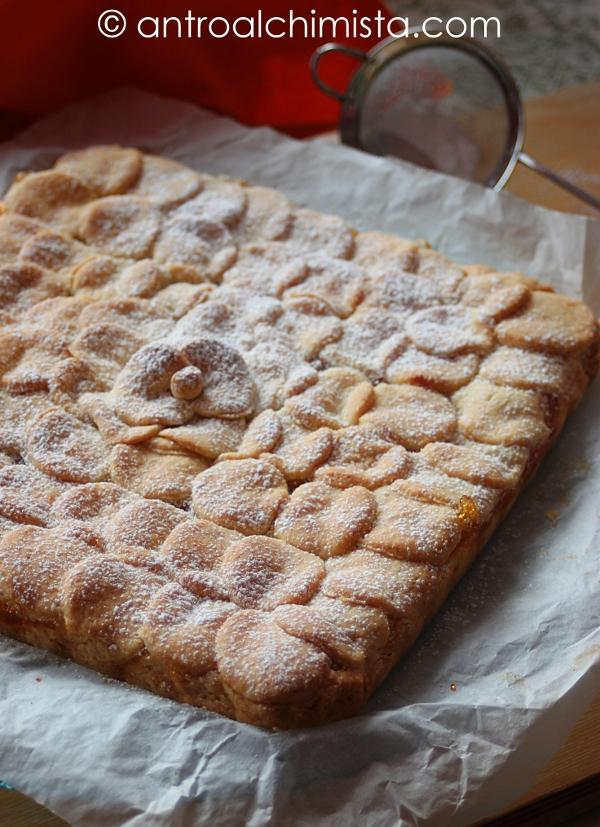 Crostata all'Olio Extravergine d'Oliva con Confettura di Albicocche