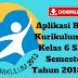 Aplikasi Raport Kurikulum 2013 Kelas 6 SD/MI Semester 1 Tahun 2018/2019 - Ruang Lingkup Guru