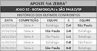 LOTECA 701 - HISTÓRICO JOGO 02