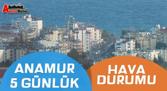 Hava Durumu, Anamur Son Dakika, Anamur Haber,