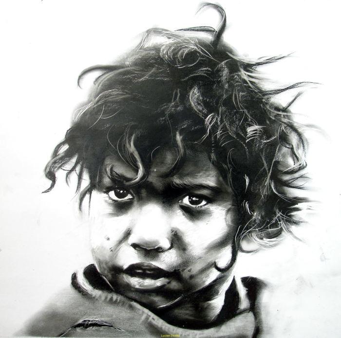 Черно-белая палитра. Lucian Dedita