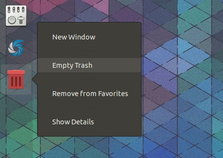 How To Add A Dynamic Trash Icon To Ubuntu Dock (Gnome Shell
