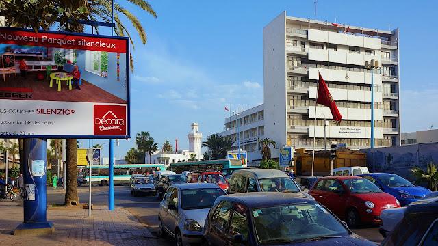 Изображение бульвара Альмоад в Касабланке, Марокко