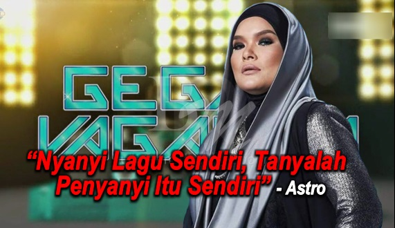 GV3: 'Nyanyi Lagu Sendiri, Tanyalah Penyanyi Itu Sendiri' - Astro