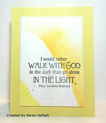 ODBD Light/Full Of Grace Collection, Card Designed by Karen Seifert
