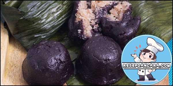 Resep dan Cara Membuat Kue Bugis Ketan Hitam Lembut dan Kenyal
