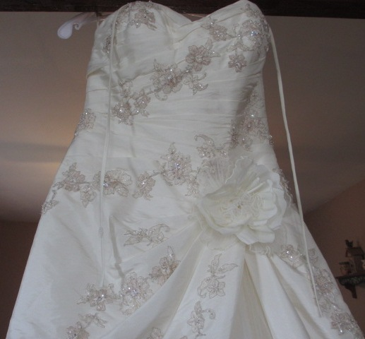 Wedding Gown For Sale: NJ Wedding On A Budget: Pronovias Wedding Gown For Sale