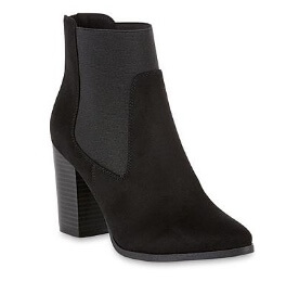 Kmart Attention Women's Chelsie Black Bootie