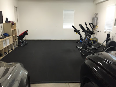 Greatmats rubber floor garage exercise gym