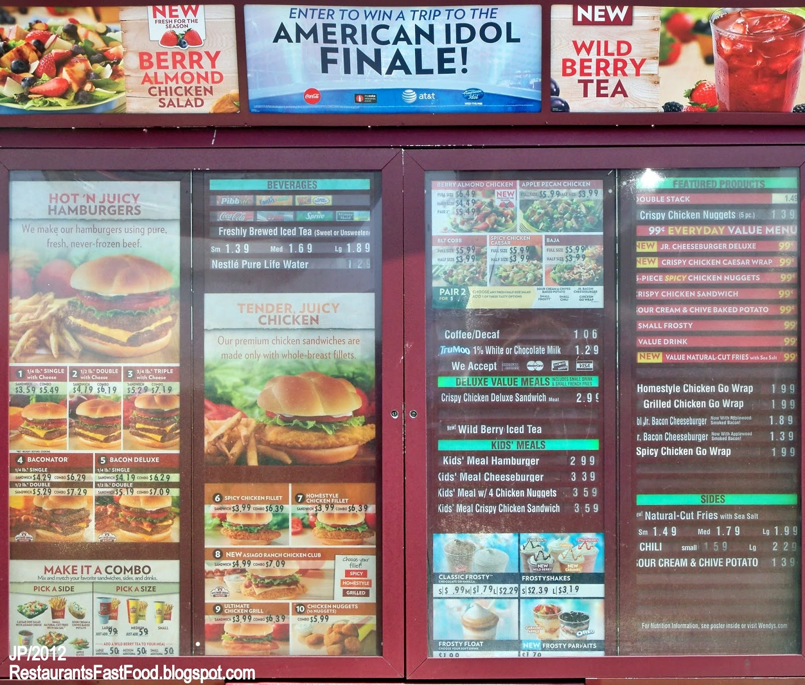 Taco Bell Drive Thru Menu