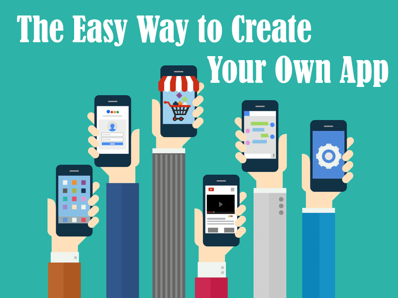 create your own android app free