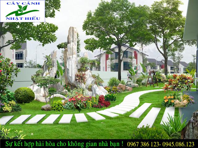 Thiết kế tiểu cảnh đẹp tại Hà Nội