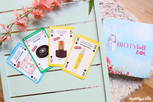 box beauté bio et naturelle : biotyfull box