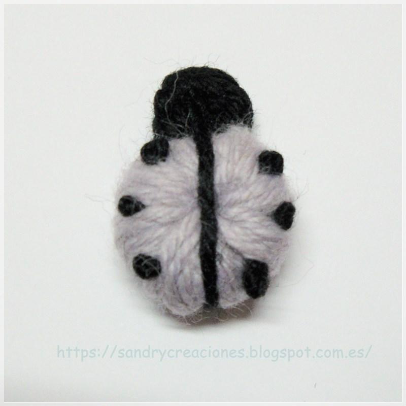 Bisutería a Crochet con mariquitas - Handbox Craft Lovers ...
