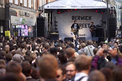 Berwick Street London, UK