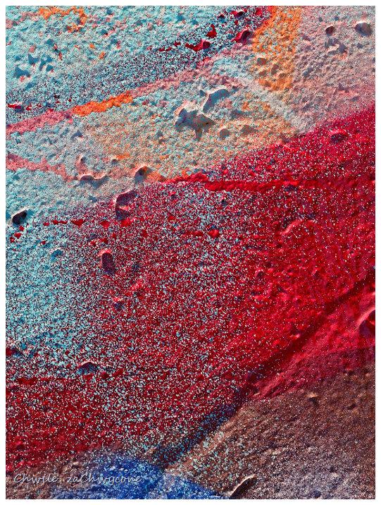 faktura muru, kolorowy tynk, abstrakcja makro