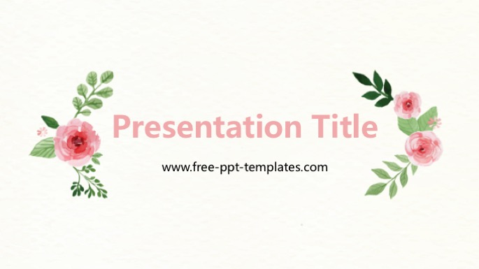 flower powerpoint template
