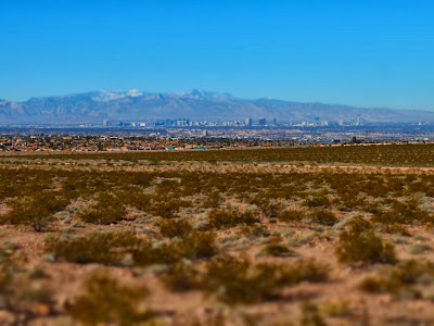 View toward Las Vegas.