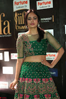 Nandita Swetha in a tight Green Choli Ghagra at IIFA Utsavam Awards March 2017 ~ 071.JPG