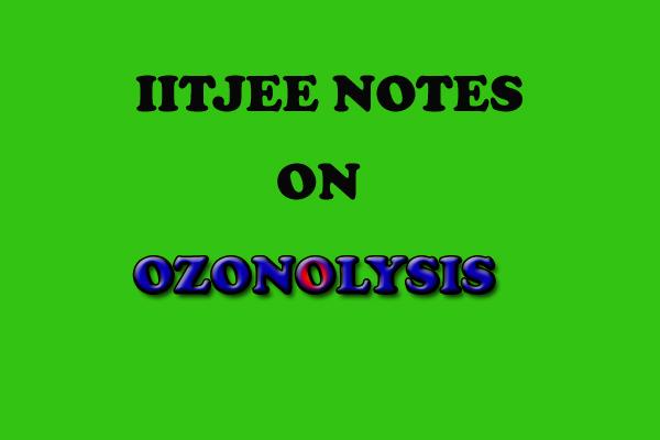 Ozonolysis practise problems