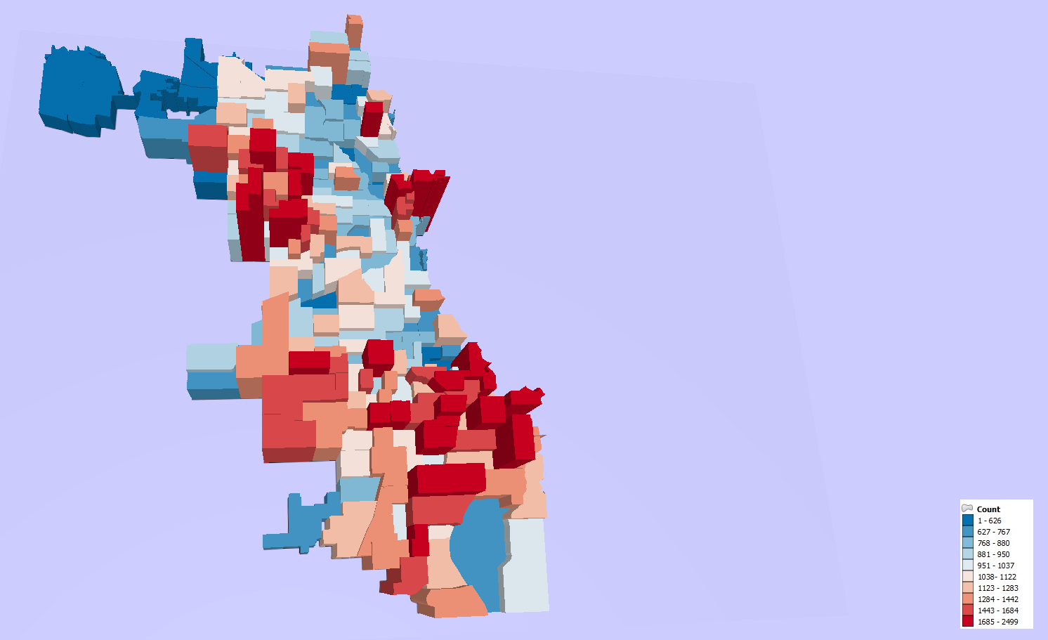Open Source GIS Blog: More 3D Maps and Tips Using QGIS2threejs