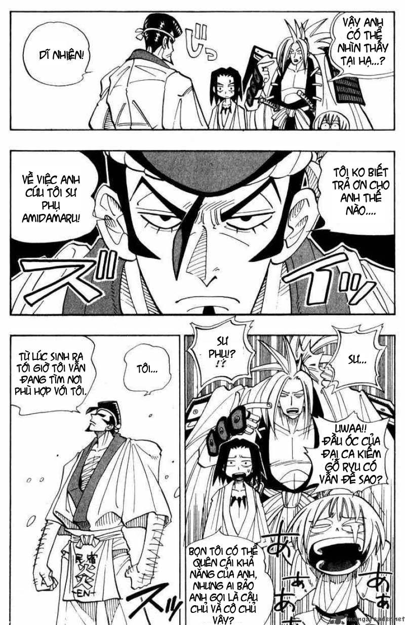 Shaman King [Vua pháp thuật] chap 25 trang 6