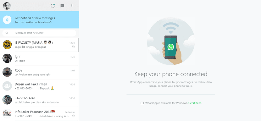 Cara Menggunakan WhatsApp di Komputer / Laptop