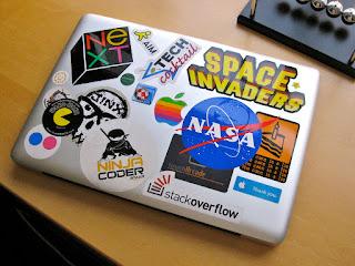 Tips Membeli Garskin/Sticker Laptop dan Cara Memasangnya