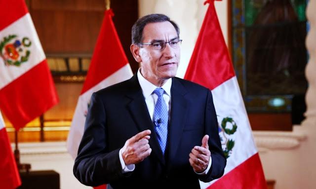 El presidente Martín Vizcarra dio un Mensaje a la Nación