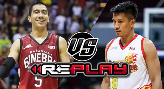 Video Playlist: Ginebra vs Rain or Shine replay 2019 PBA Philippine Cup