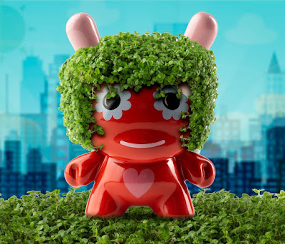 "San Diego Comic-Con 2018 Exclusive ""Let Love Grow"" Terra-cotta Chia 5"" Dunny by Jeremyville x Kidrobot"