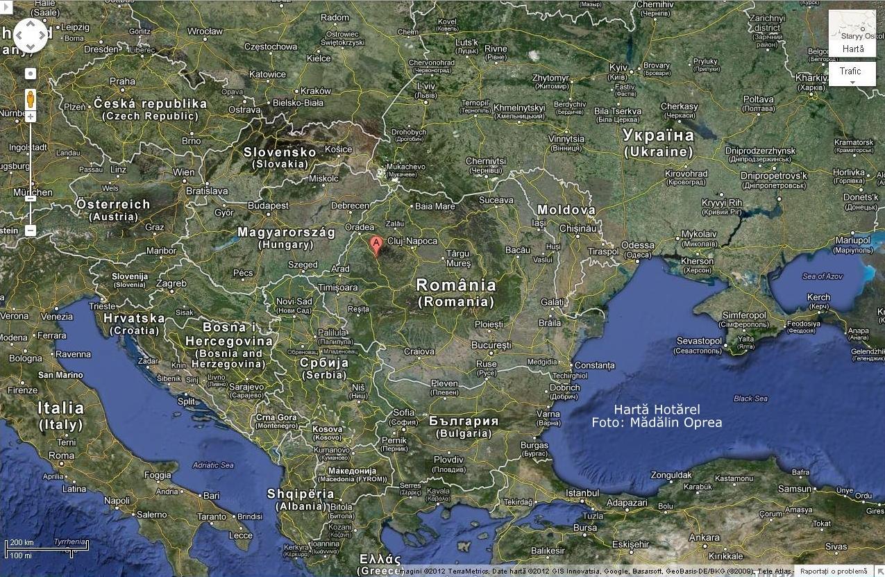 Harta Turistica A Romaniei Google