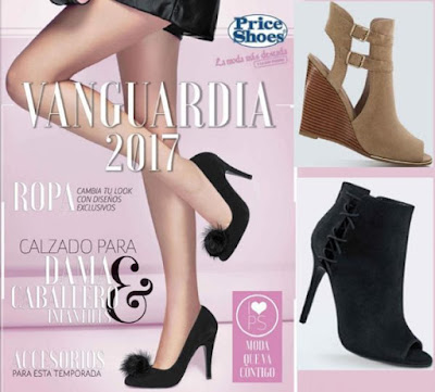catalogo priceshoes vanguardia 2017