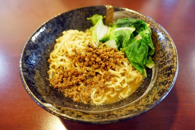 醍醐軒素食麻醬乾麵