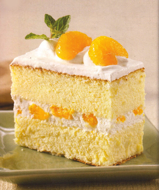 Resep Kue Orange Cheese Cake (Cake Keju Jeruk)