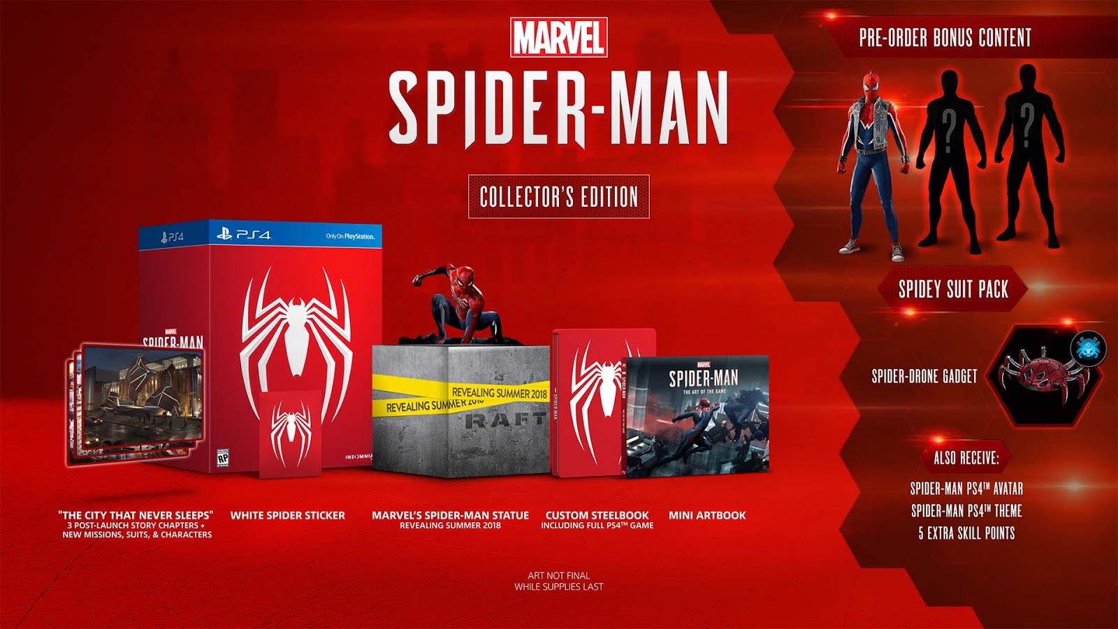 PS4 Exclusive Spider-Man Price and Release Date Revealed! - The
