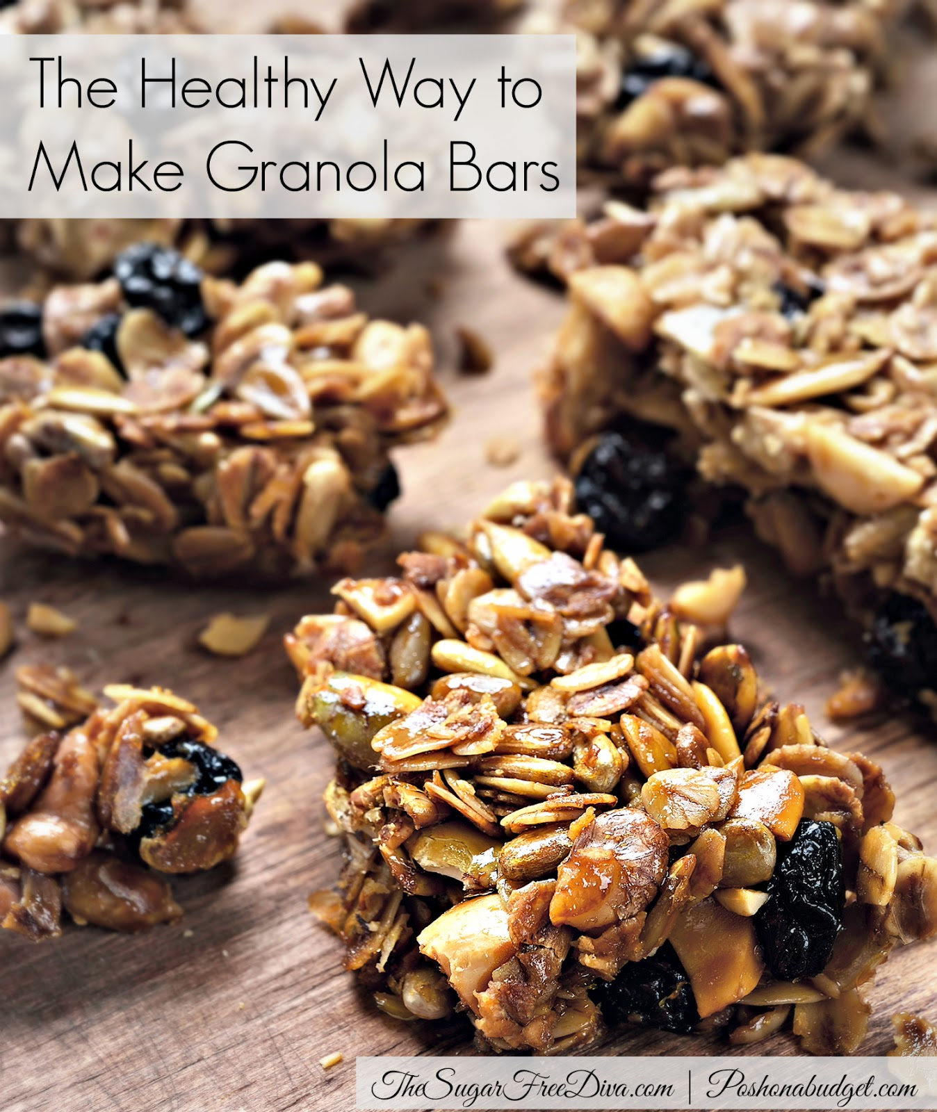 The Healthy Way to Make Granola Bars