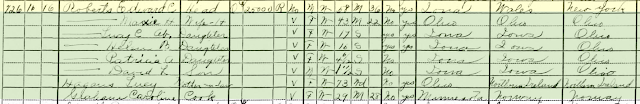 davenport iowa 1930 census roberts family